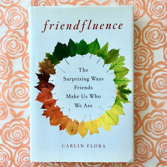 "Doubleday Other - BOOK ""Friendfluence"" by Carlin Flora Hardcover"